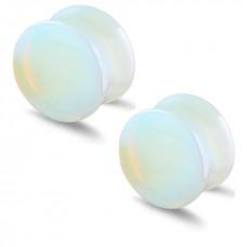 Прозрачные плаги Лунный камень