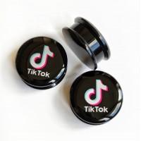 Акриловые плаги в уши TikTok
