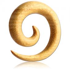 Спираль из дерева Джекфрут