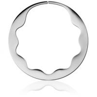 Серьги кольца для тоннелей пара