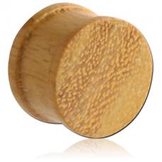 Плаги плоские из дерева Джекфрут