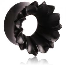 Органический тоннель Цветок черный