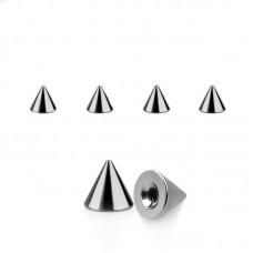 Шип металлический серебристый 1,6мм