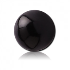 Акриловый черный шарик 1,6мм