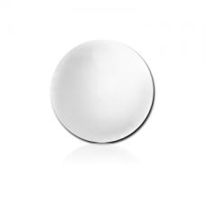 Акриловый белый шарик 1,6мм