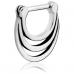 Сережка кликер тройное кольцо для Септума